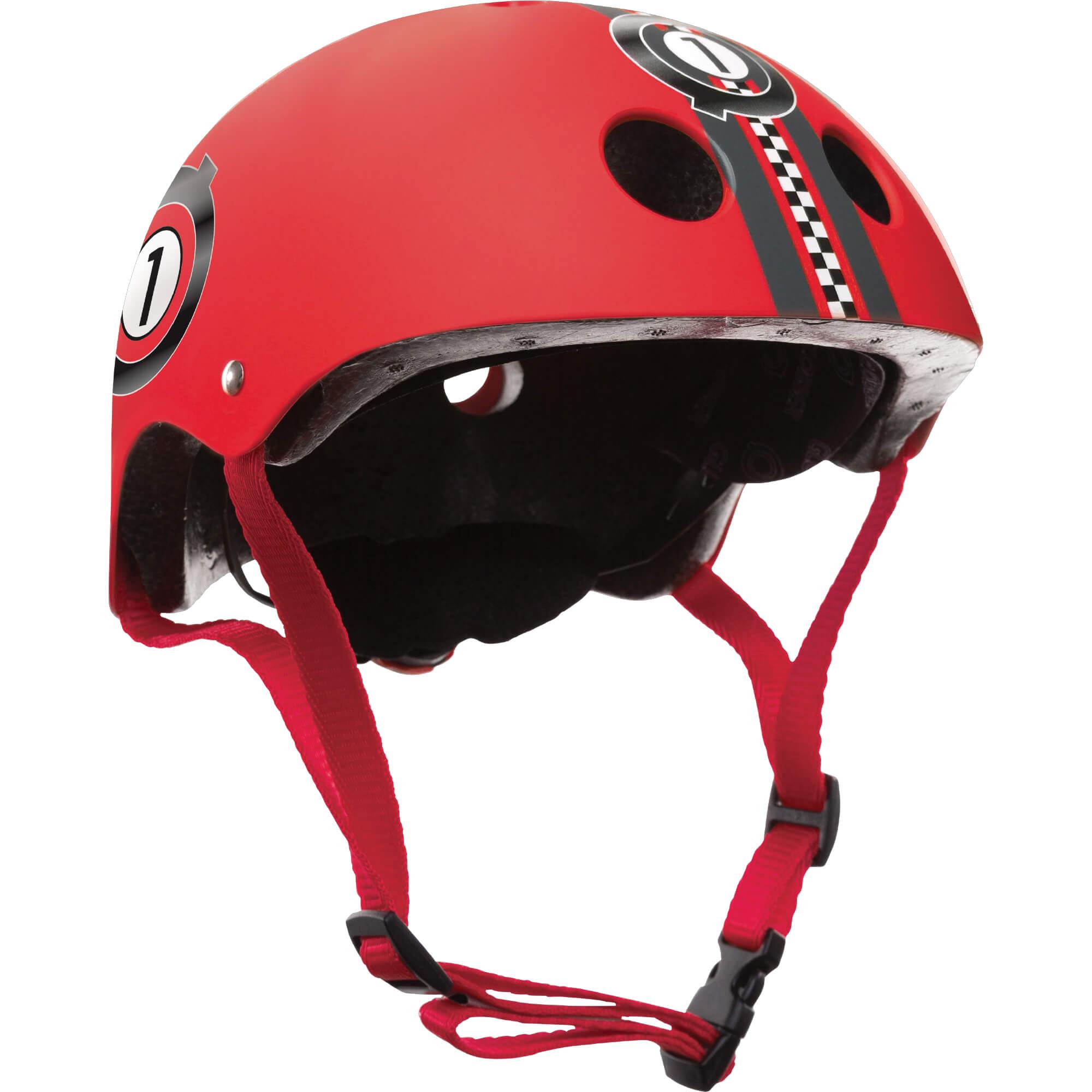 Red Race Helmet imagine