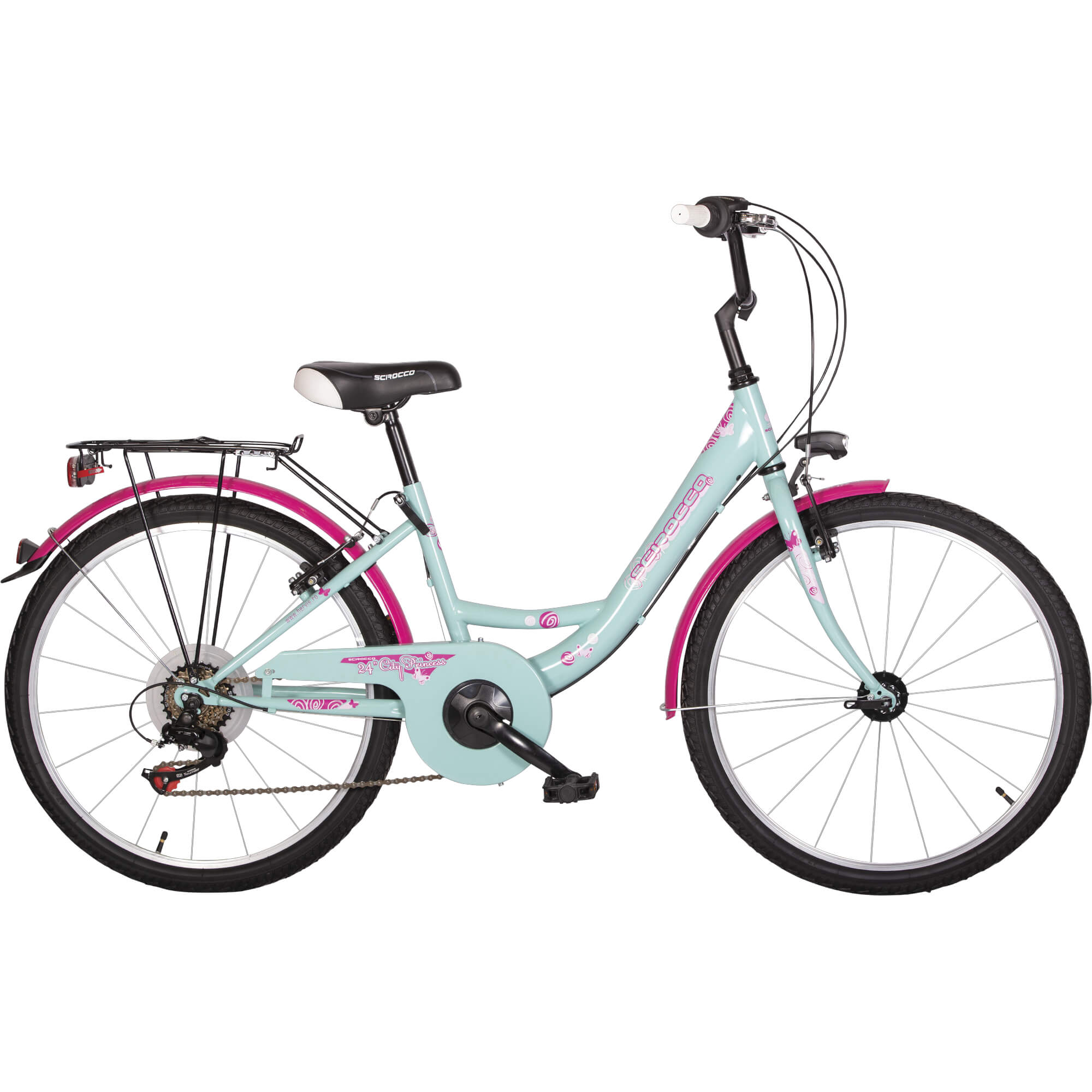 Bicicleta copii City Princess Scirocco