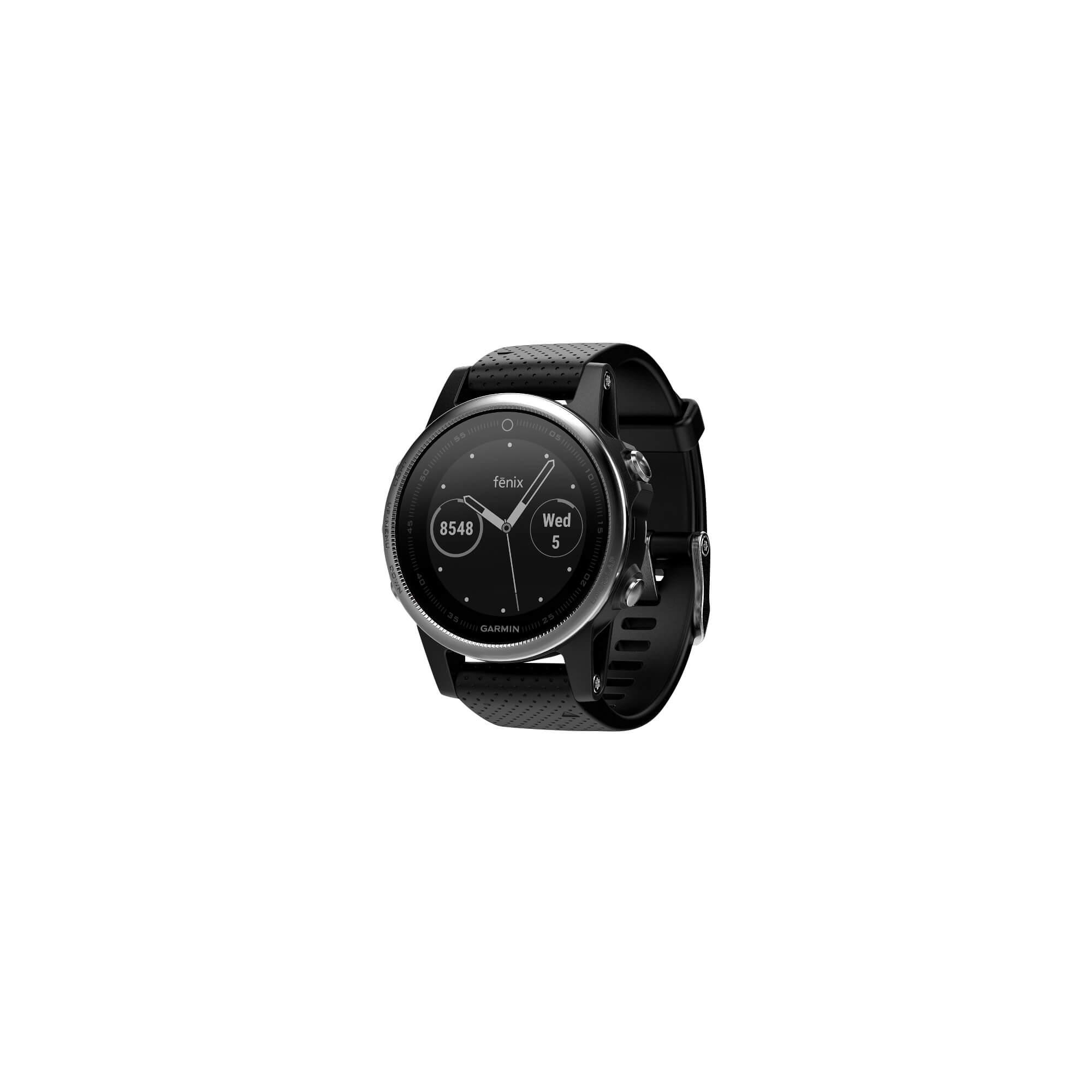 Fenix 5S Black Silver Garmin