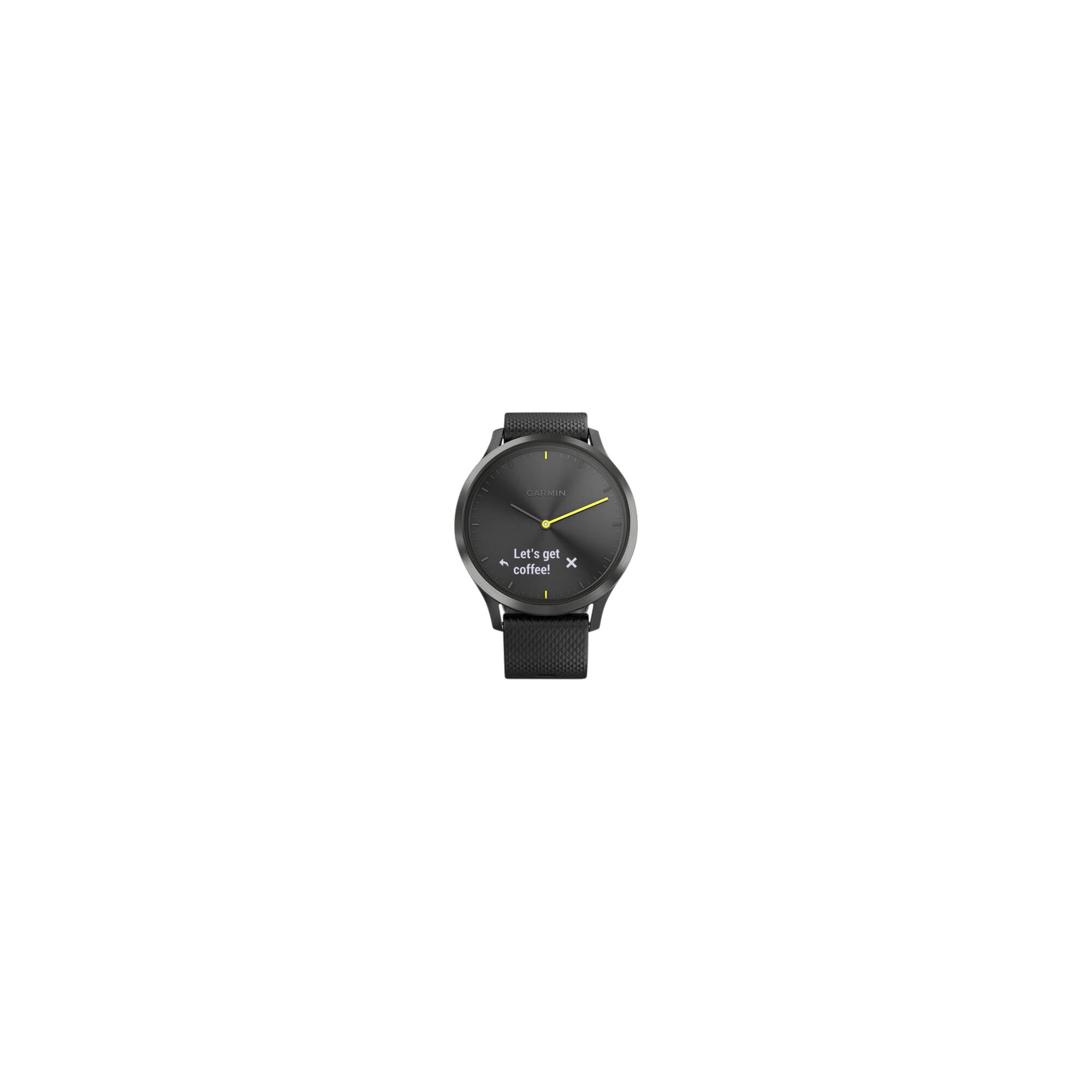 Vivomove HR Sport Black L Garmin