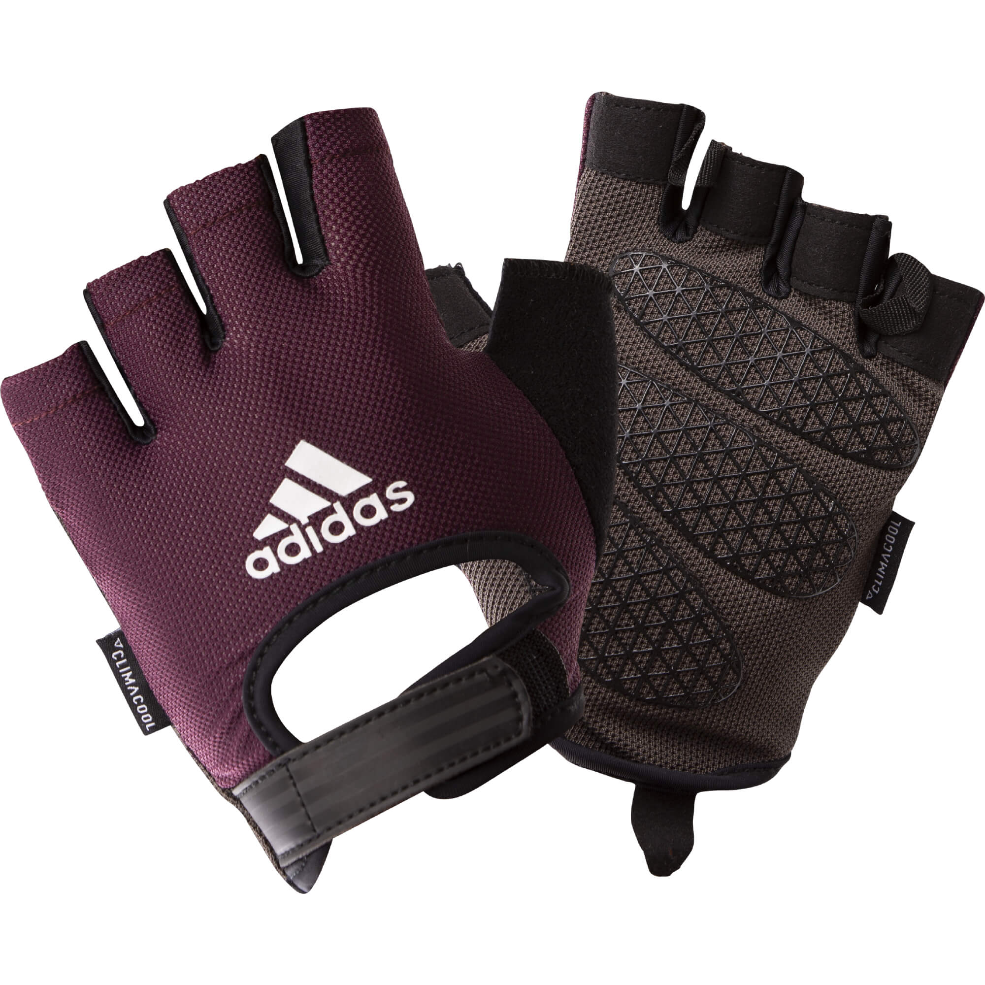 ADIDAS PURPLE WOMEN GLOVES imagine